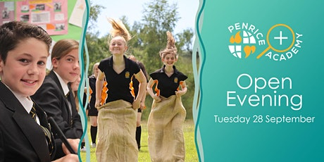 Penrice Academy Open Evening - Tuesday 28 September tickets