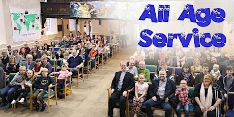 10.30am All Age Service - November 7th - Book a BUBBLE tickets