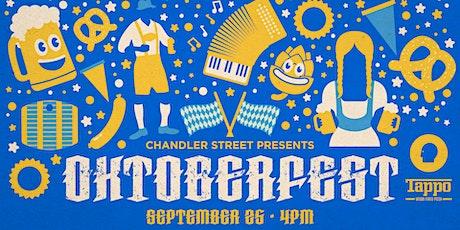 Oktoberfest on Chandler with Thin Man, Tappo Pizza, & The Ausländers tickets