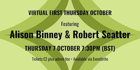 Virtual First Thursday October tickets