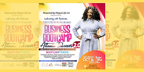 6 Figure Business Bootcamp 1.0: Atlanta Takeover: tickets