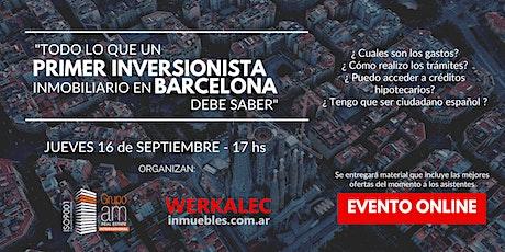 Cómo hacer inversiones inmobiliarias en BARCELONA y lograr rentas en EUROS entradas