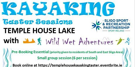 Temple House Kayaking Taster Sessions tickets