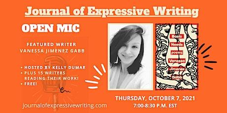 Open Mic with Vanessa Jimenez Gabb + 15 other writers tickets