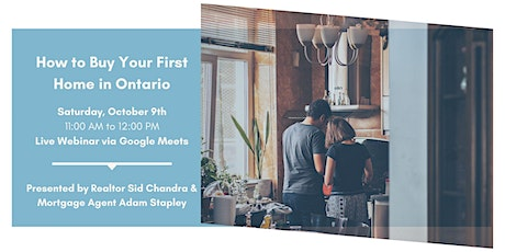 [An interactive webinar] How to Buy Your First Home in Ontario Tickets