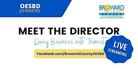 Meet the Director - Transportation Department tickets