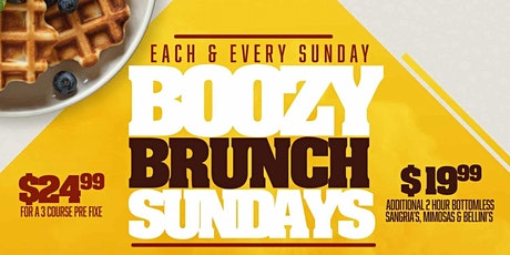 Boozy Brunch Sundays & After Party at NoMa Social tickets
