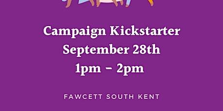 Campaign Kickstarter tickets