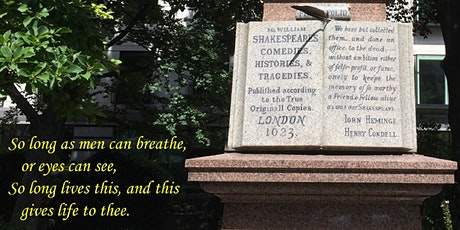 Walking Tour - Echoes of Shakespeare tickets