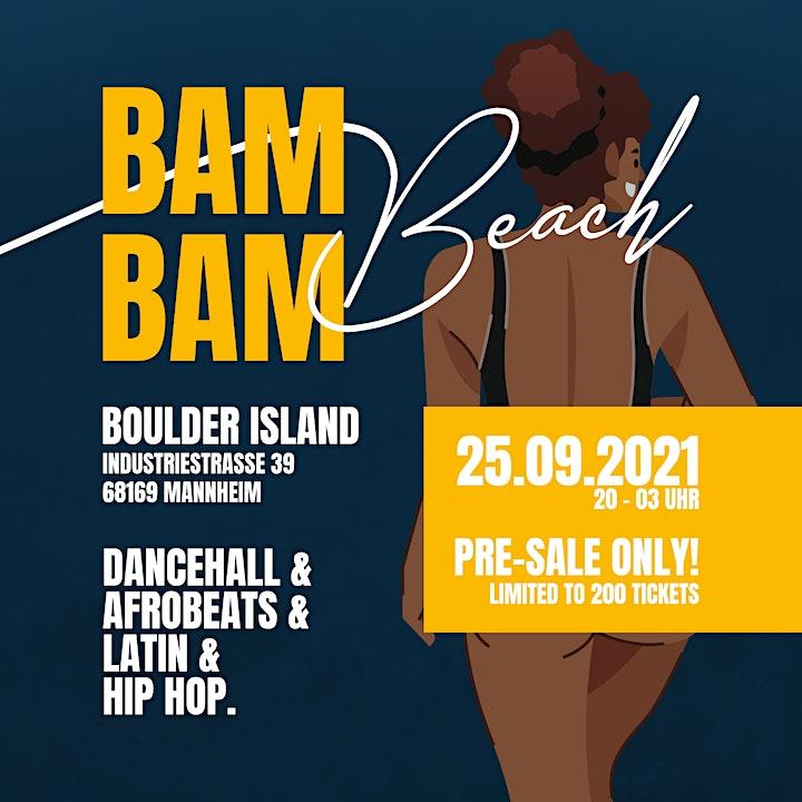 BAM BAM BEACH SUMMER CLOSING: Bild