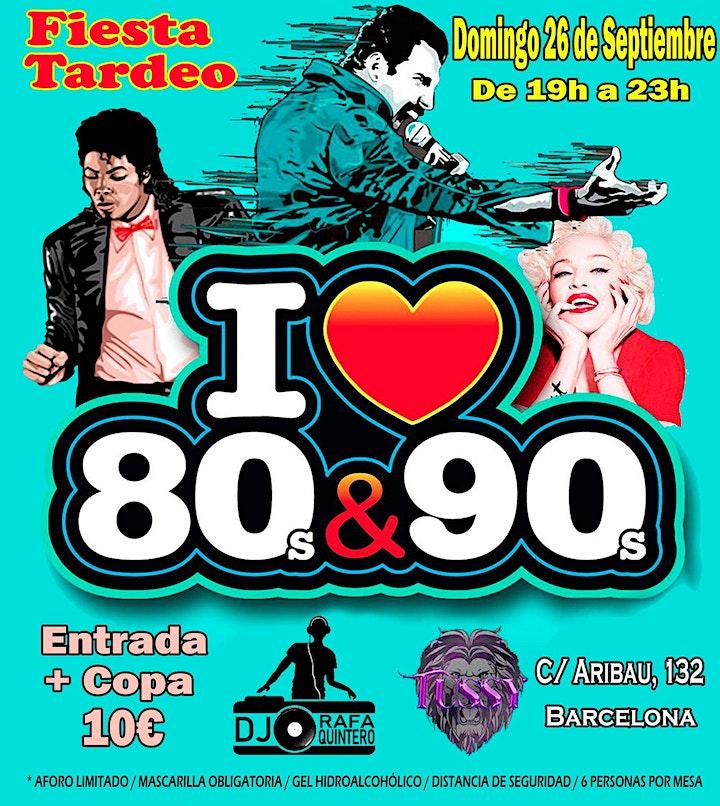 Imagen de Fiesta Tardeo I Love 80s&90s