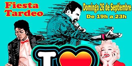 Fiesta Tardeo I Love 80s&90s entradas