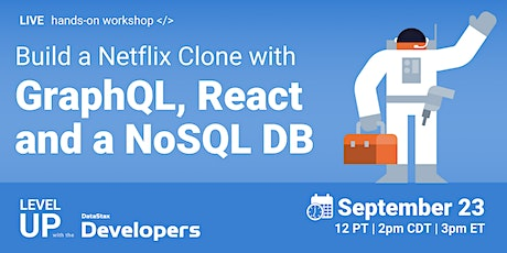 #Frontend2021 - Build a Netflix clone with GraphQL, React and a NoSQL DB tickets