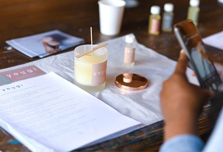 Aromatherapy Candle Making Workshop in Battersea image