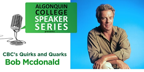 COVID-19 and its Impact on Climate Change-Bob McDonald of Quirks and Quarks tickets