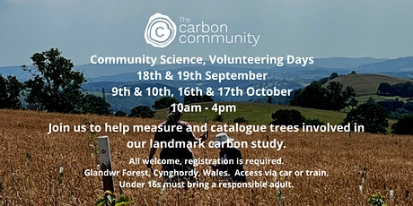 The Carbon Community: Community Science Volunteering Days tickets