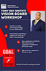 Vision Board Workshop Presented by Tony Ray Smith tickets