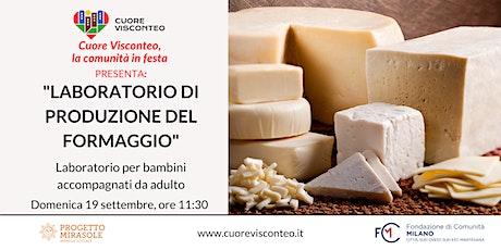 Laboratorio di produzione del formaggio biglietti