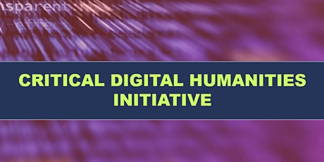 4th Annual Digital Humanities Conference tickets