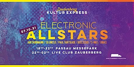 Electronic Allstars  • Passau • Zauberberg Kultur Express Tickets