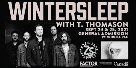 Wintersleep with T. Thomason tickets
