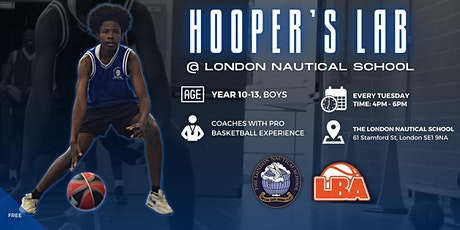 Hooper's Lab @ London Nautical School - Weekly Basketball tickets