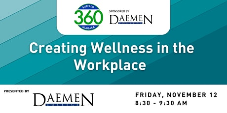 BN360 Event: Creating Wellness in the Workplace tickets