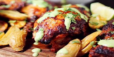 UBS - Virtual Cooking Class: Peruvian Chicken with Aji Verde tickets
