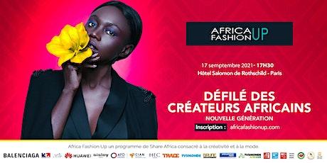 DÉFILÉ DES CRÉATEURS AFRICAINS billets