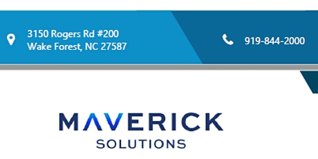Maverick Solutions Information Session tickets