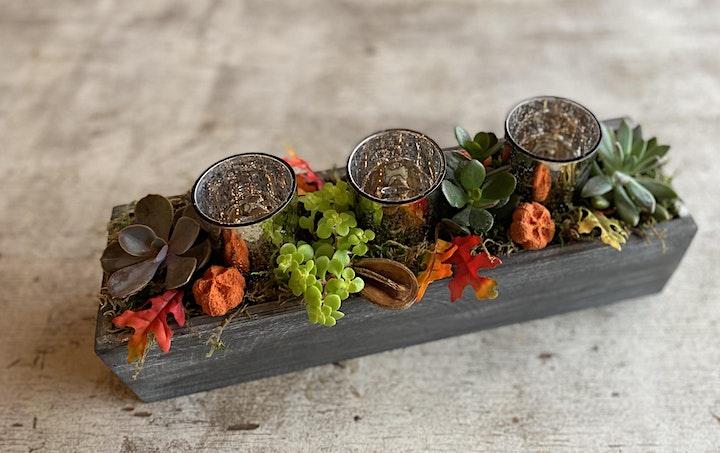 Thanksgiving Succulent Centerpiece Happy Hour image