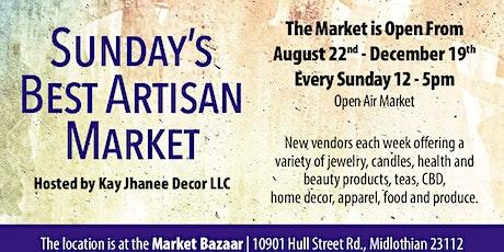 Sunday's Best Artisan Market hosted by Kay Jhanee Decor tickets