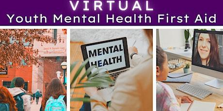 Youth Virtual Mental Health First Aid tickets