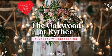 The Wedding Evening at The Oakwood at Ryther tickets
