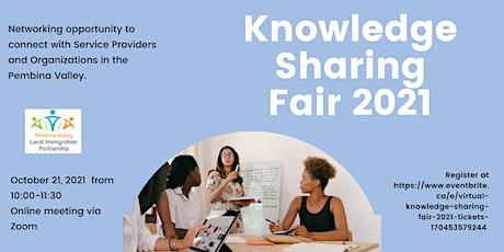 Virtual Knowledge Sharing Fair 2021 tickets
