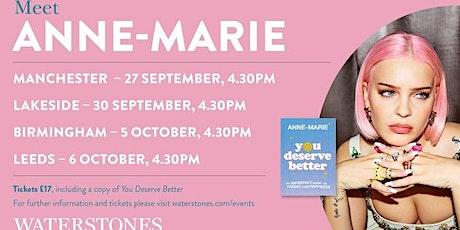 Meet global pop star Anne-Marie - Manchester Trafford Centre tickets