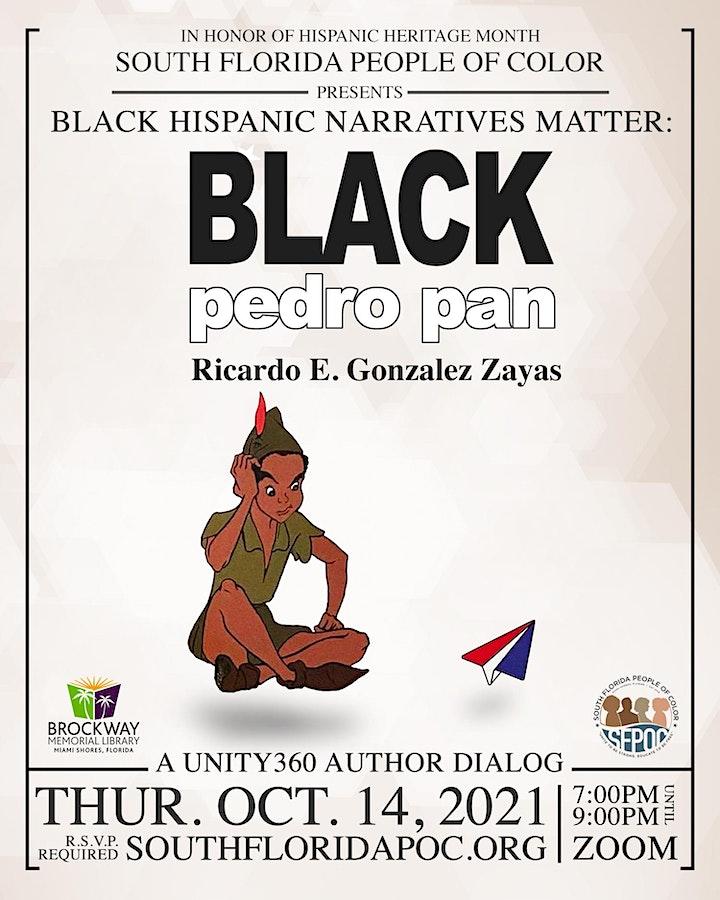 Black Hispanic Narratives Matter: BLACK pedro pan image