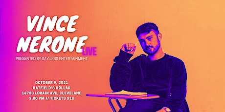 Vince Nerone LIVE tickets