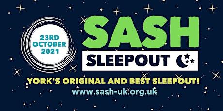 SASH Sleepout 2021 tickets