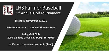 2021 First Annual LHS Baseball Booster Club Golf Tournament tickets