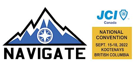 JCI Canada NatCon 2022 - Navigate tickets