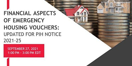 Financial Aspects of Emergency Housing Vouchers (Updated) tickets