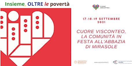 Cuore Visconteo, la comunità in festa all'Abbazia di Mirasole! biglietti