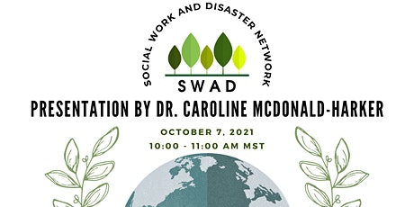 Resilience and Recovery of Youth Post Disaster by Dr. McDonald-Harker tickets