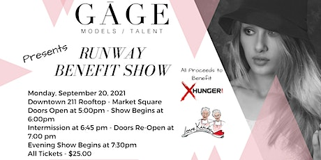 Gage Talent Presents  A  Runway  Benefit Show for The Love Kitchen tickets