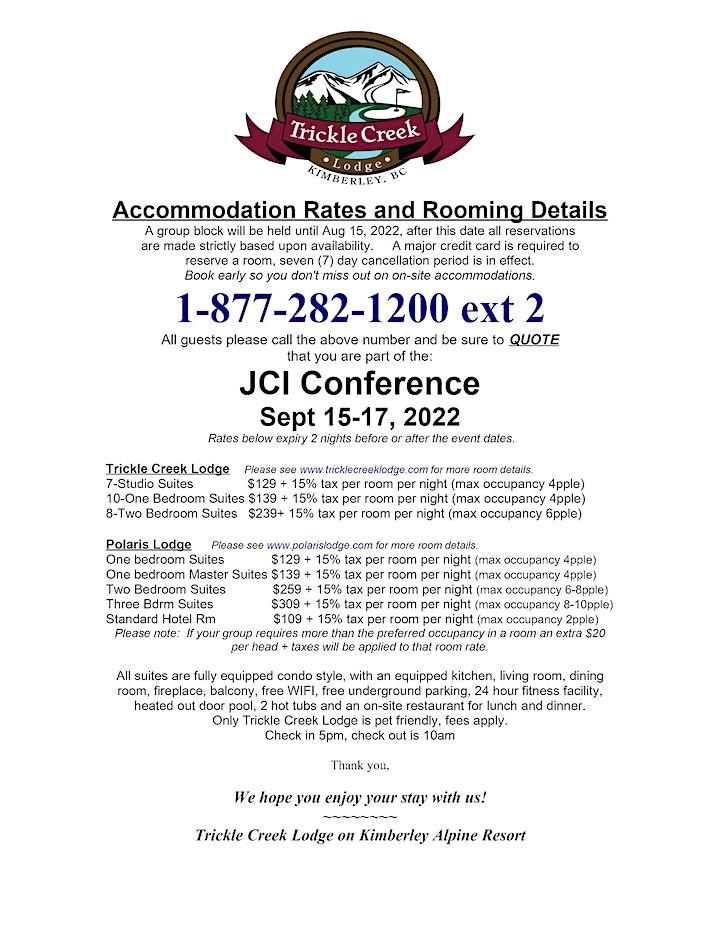 JCI Canada NatCon 2022 - Navigate image
