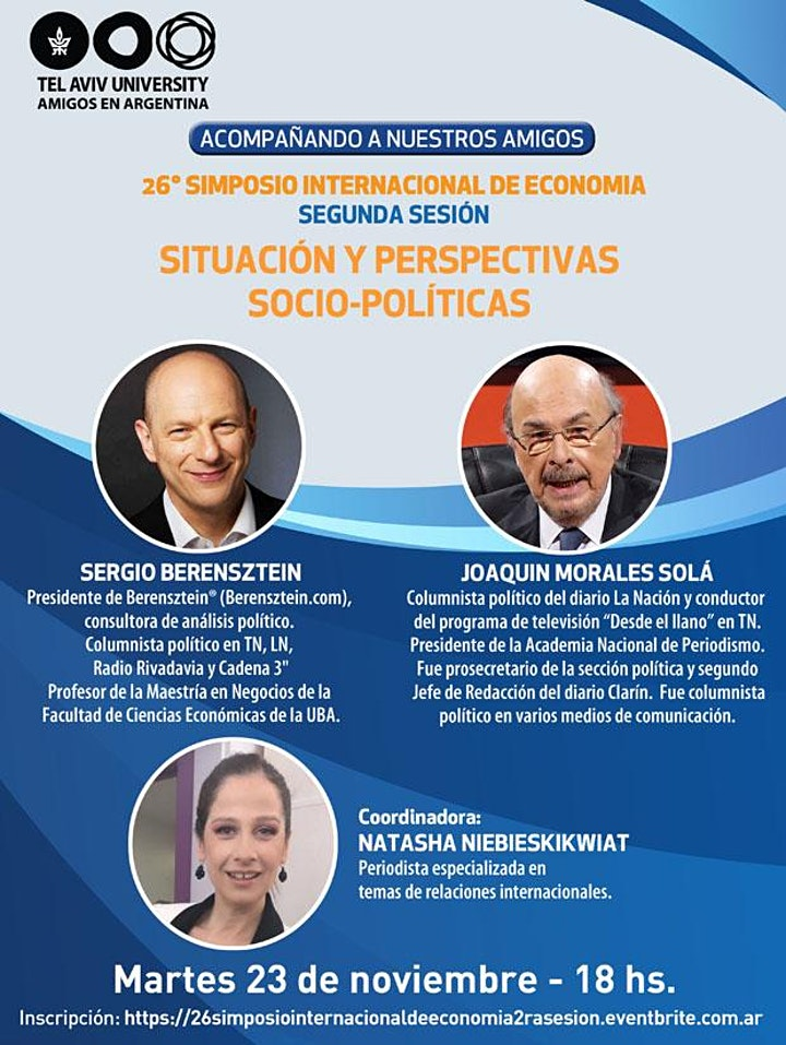 Imagen de 26° SIMPOSIO INTERNACIONAL DE ECONOMÍA: 2DA SESION: SOCIO-POLÍTICA