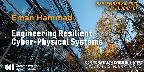 CCI Fall 2021 Seminar 2, Engineering Cyber-Physical Systems tickets