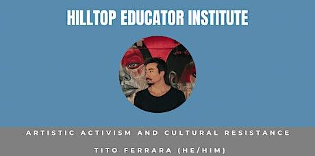 Artistic Activism and Cultural Resistance entradas