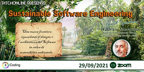 #PitchOnLine Sustainable Software Engineering tickets